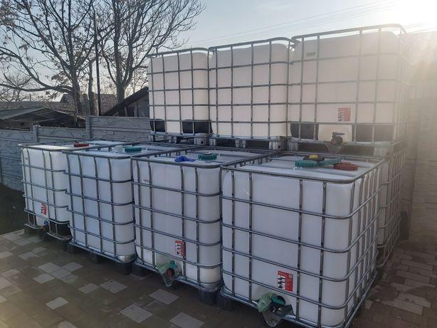 Bazine ca noi 1000 litri(cub, ibc, rezervor) - posibilitate transport