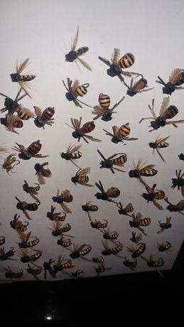 Изкуствени мухи на куки от #16 до #4