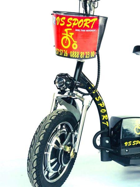 Електрическа триколка VS Sport • Electric scooter VS 200 • 48V 500W гр. Бургас - image 1