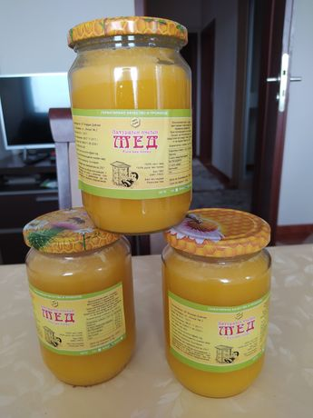 Пчелен мед / мед в пита / клеева тинктура/ пчелен прашец / восък