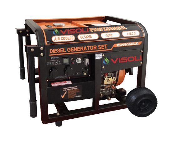 Generator curent electric Diesel Visoli DG8000E- 6.5KW + ATS