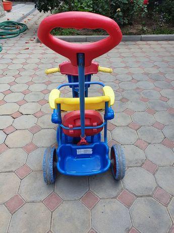 Продаём детский велосипед на котором наши дети ездили