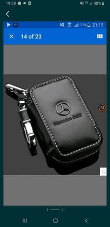 Huse cheie Mercedes piele breloc  foarte finut
