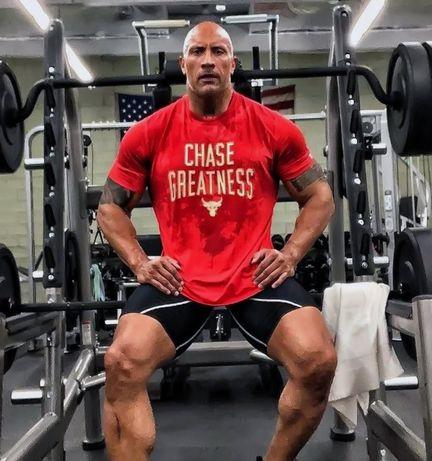 NEW!!! Мъжки потници и тениски UNDER ARMOUR ROCK Fitness Фитнес принт!
