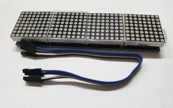 1602, 2004 LCD, 128*64 GLCD, MAX7219