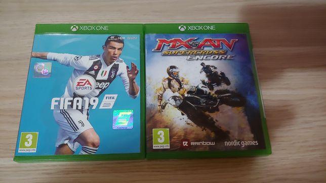 2 jocuri XBOX ONE - Fifa 19, MX vs ATV Supercross Encore