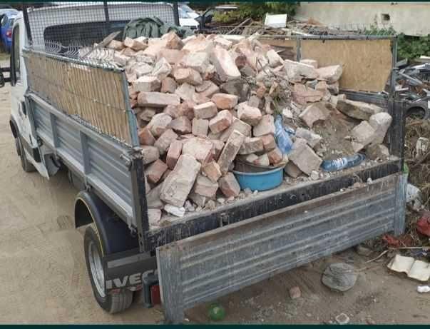 Transport Moloz Buftea , caramida, tigla, bca, resturi materiale
