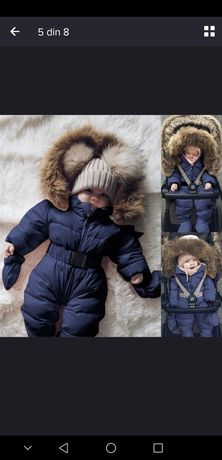 Salopeta / combinezon iarna bebelus