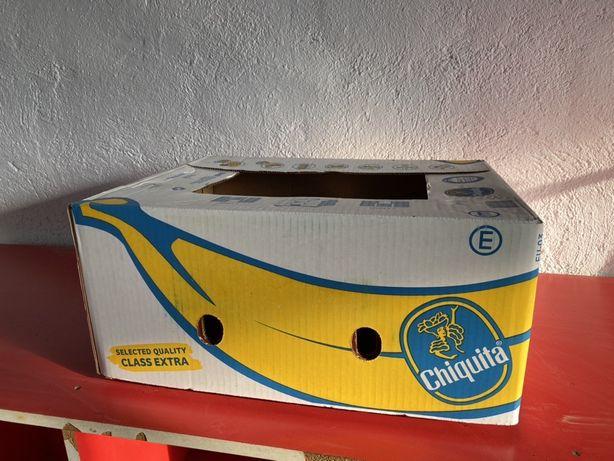 Vând cutii de banane noi!