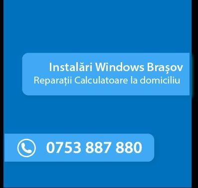 Reparatii Calculatoare/Instalare Windows/Router la domiciliu in Brasov