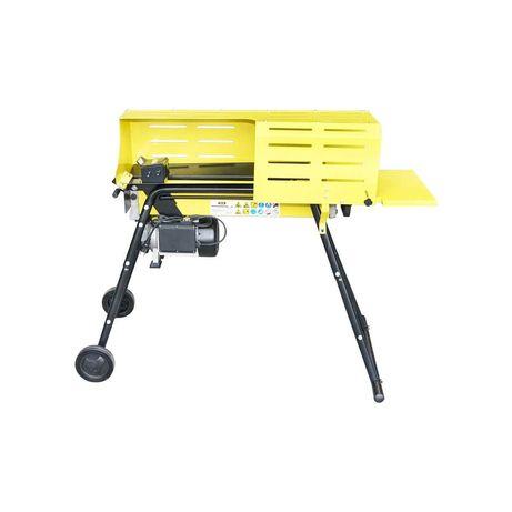 Despicator lemne orizontal 5T 230V 2kW cu suport inaltime si protectie