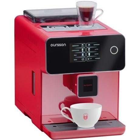 Espressor Automat, OURSSON, 19 Bar, Ecran tactil,  Rasnita Ceramica