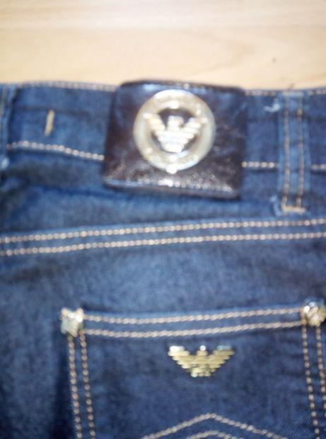 Blugi noi Armani Jeans