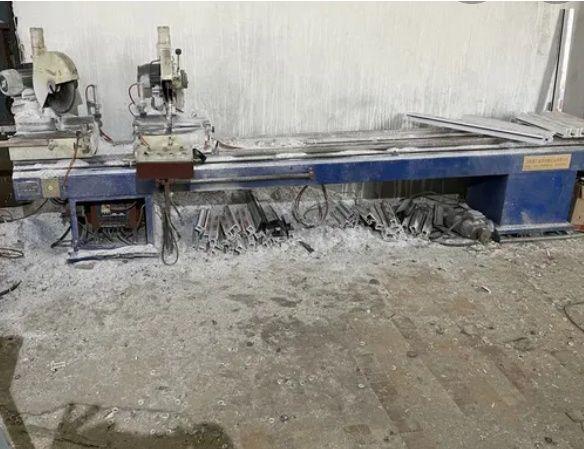 Оборудование  для производства  металлппласкиковых окон