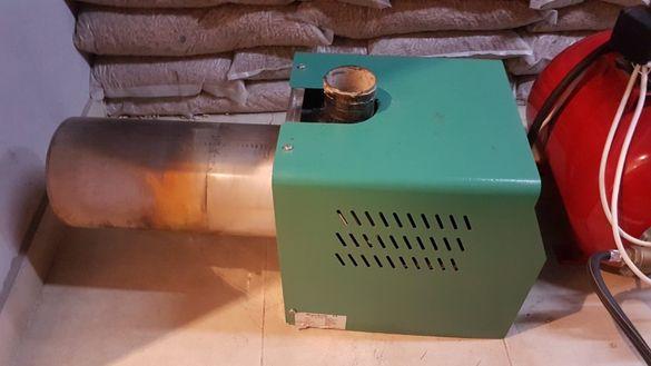 Пелетна горелка 150kw с управление