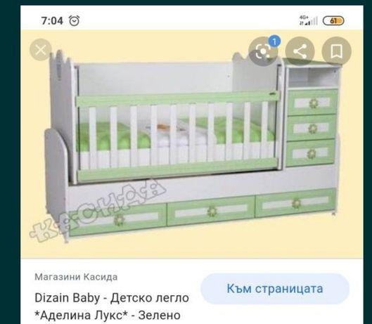 Детско легло Аделина лукс
