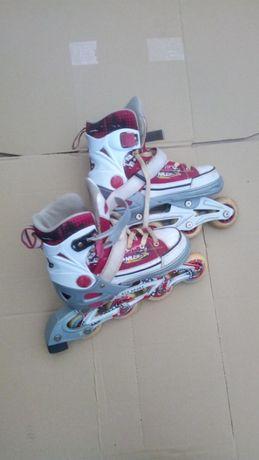 patine cu rotile rco sports pentru fete