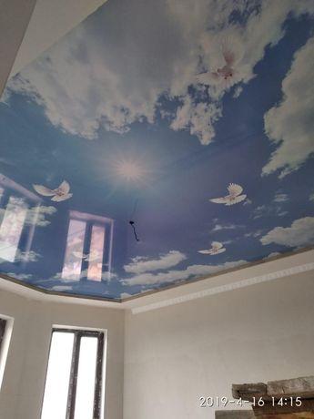 Жылдам әрі сапалы натяжной потолок! Натяжные потолки в каждый дом!