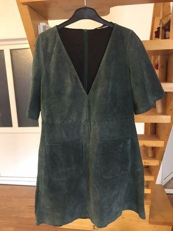 Rochie din piele Zara mărimea L