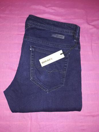 Jeans DIESEL Thavar cu elastan  sweat pants (preț fix)