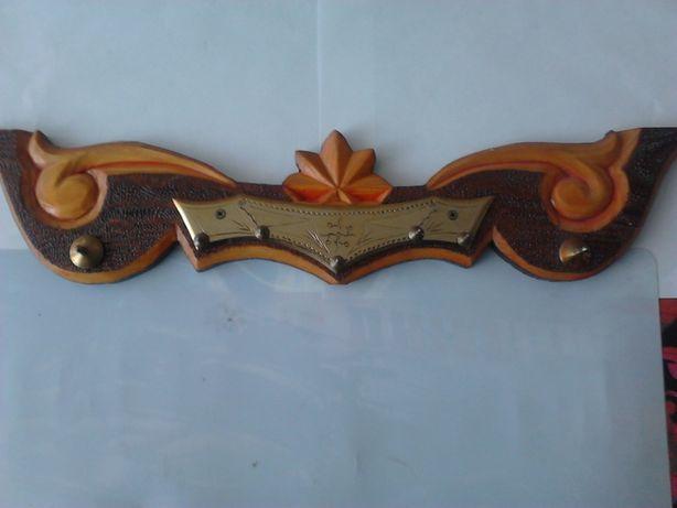 подвеска держатель для кухонной утвари из дерева