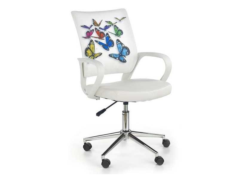 Детски стол за бюро Пеперуди