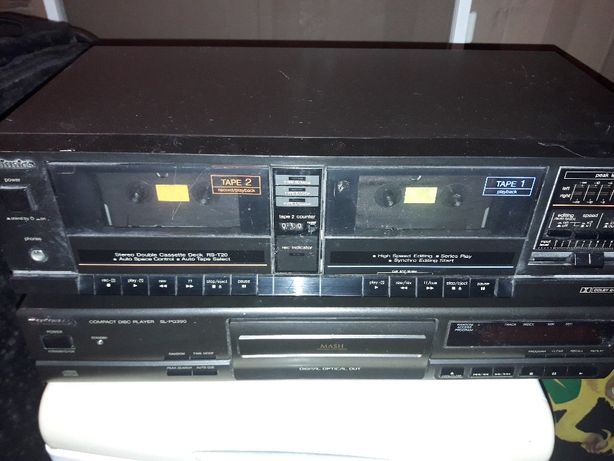 Stereo double cassette DECK RS-T20