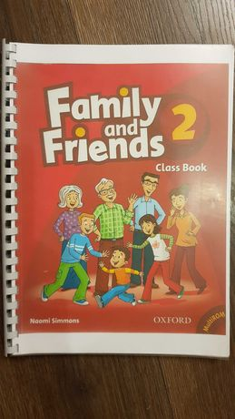 Family and friends class book 2