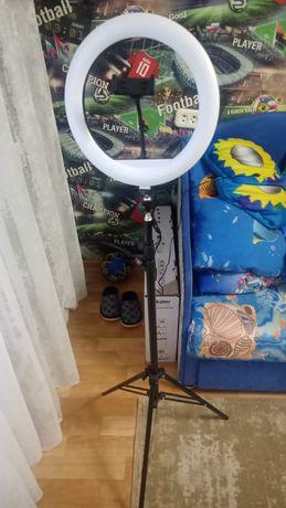 LED Лампа кольцевая 30см