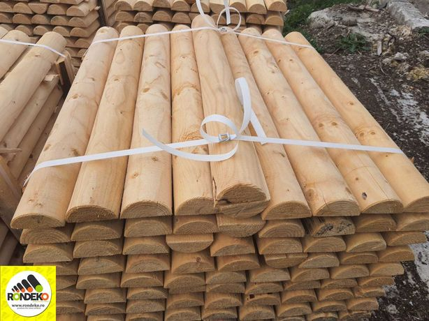 Sipci Semirotunde pentru Garduri