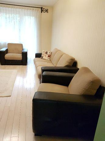 Set canapea extensibila 3 locuri + 2 fotolii