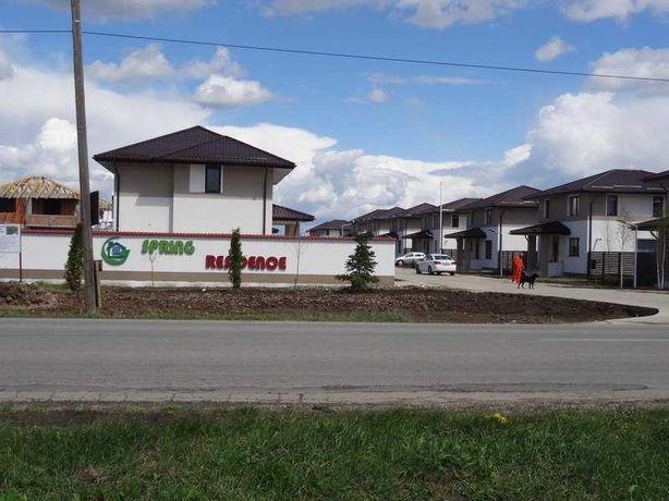Ansamblu Spring Residence, Casa p+e, 3 cam (duplex),curte, garaj