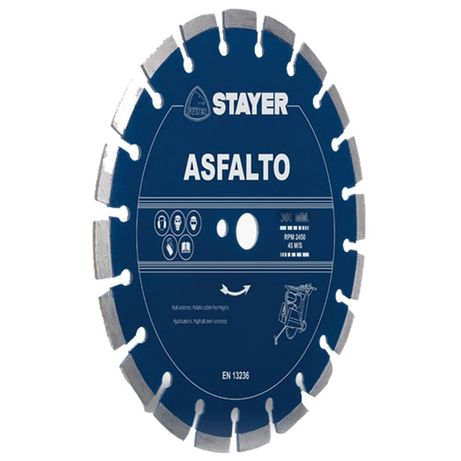 STAYER disc profesional diamantat pt masina de taiat asfalt. 450mm NOU