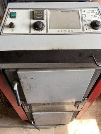 Centrala gazeificare ATMOS 50 kw + puffer 1000 l