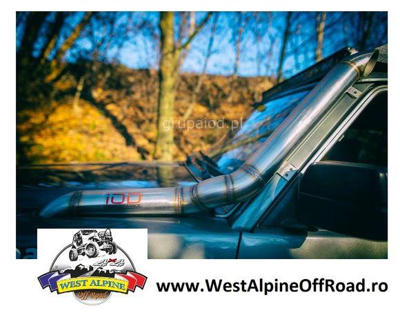Snorkel Nissan Patrol Y60 - Din OTEL Inoxidabil - Extreme Off Road