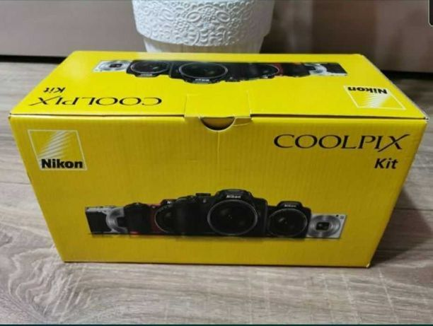 Aparat foto digital Nikon Coolpix L340, 20.2 mp, Nou Sigilat, Card.