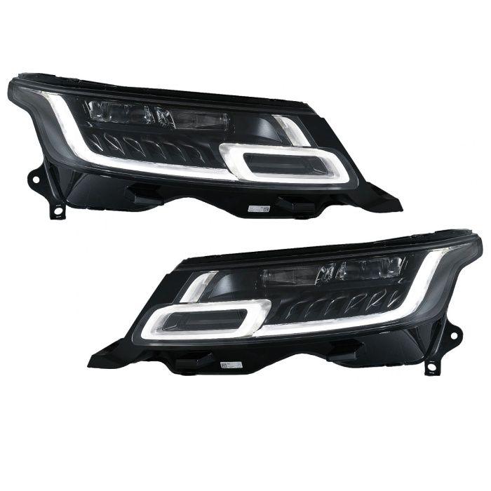 Faruri full LED Rover Range Sport L494 (13-17) dinamice matrix look Suceava - imagine 1