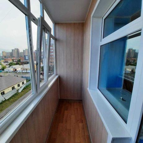 Обшивка утепление остекление балконов и лоджий Пластиковые окна