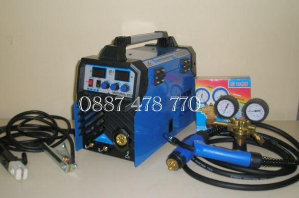 250 Ампера Инверторно Телоподаващо с Електрожен