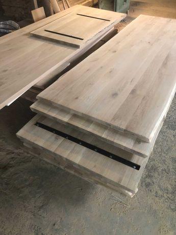Blat de bucatarie/Blat de masa/Masa din lemn masiv de stejar/cires/fag