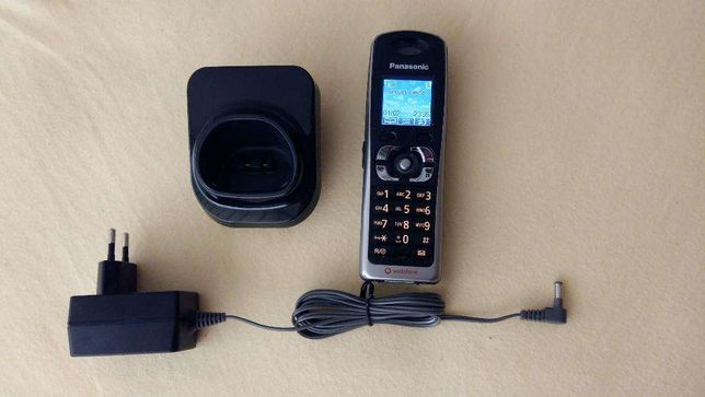 Telefon GSM mobil / fix Panasonic KX-TW201 RMBA vodafone black