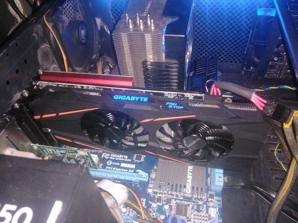 Продавам !ПЕРФЕКТНА! GeForce GTX 1060 G1 Gaming 3GB GDDR5 192bit
