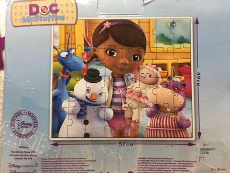 Puzzle Doc McStuffins/ Doctorita Plusica 49 x 57 cm