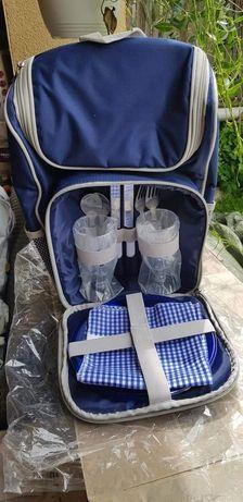 Rucsac pentru picnic Outside, 2 persoane, Albastru