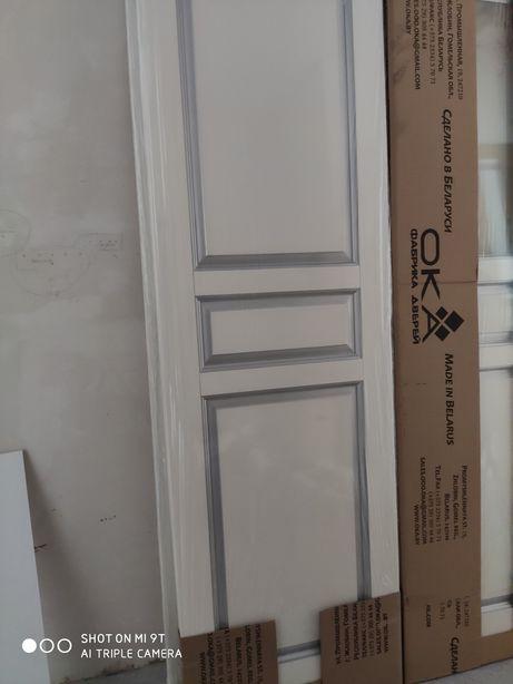 Белорусские двери из ольхи полотна высота 2.3 ширина 0.7