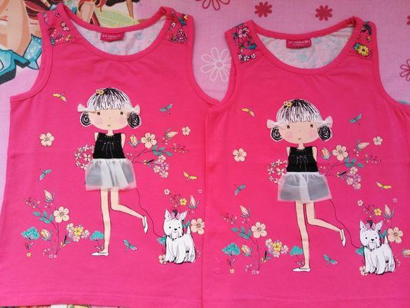 Детски блузи нови