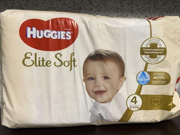 Huggies Elite Soft 4 (хаггис элит софт)