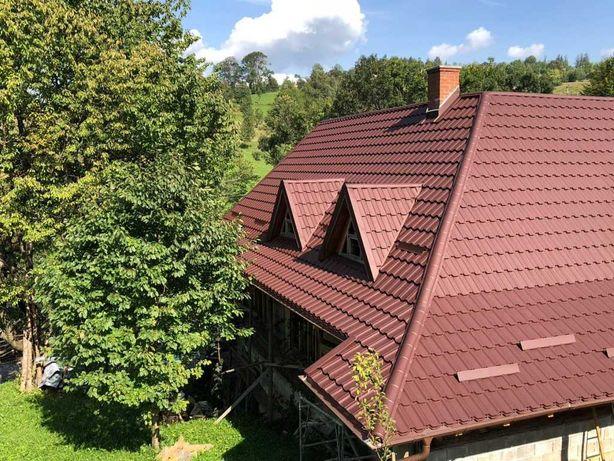 Service acoperisuri - montaj si reparatii sistem acoperis