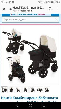Детска комбинирана количка Hauck Viper