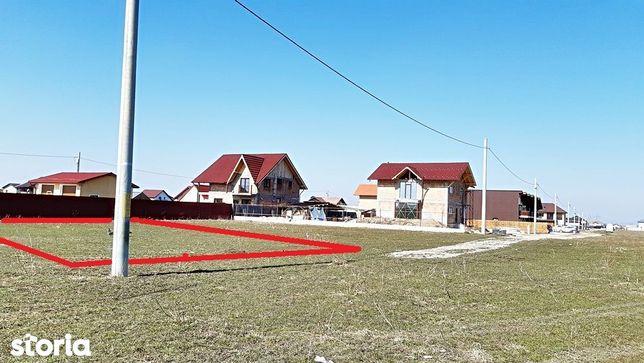 Sanpetru, intrare dinspre Brasov, teren 500mp, zona de case noi, 29000